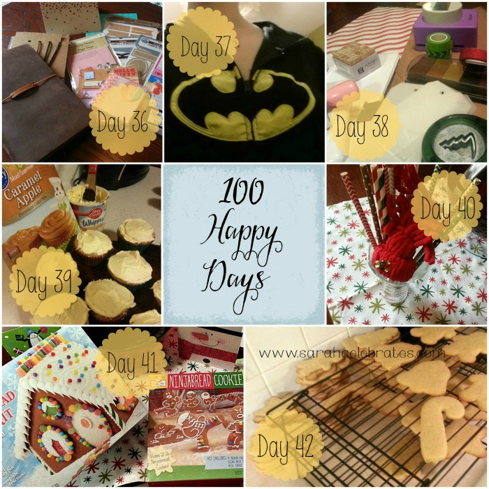 100 Happy Days - Week 6 | Sarah Celebrates