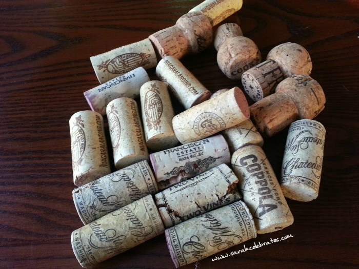 Wine Cork Tree - Lots of corks |Sarah Celebrates
