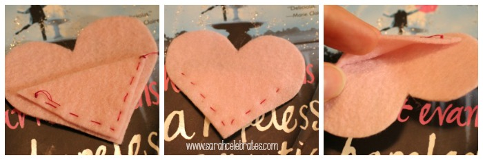 Felt Heart Bookmarks - Your Bookmark Pocket   Sarah Celebrates