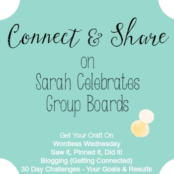 Join Pinterest Group Boards | Sarah Celebrates