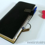 Way Cool Wallet - Original Midori Travelers Notebook | Sarah Celebrates