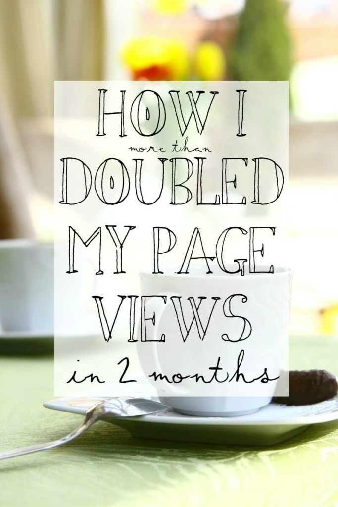 2usestuesday feature - diybudgetgirl - doubled page views