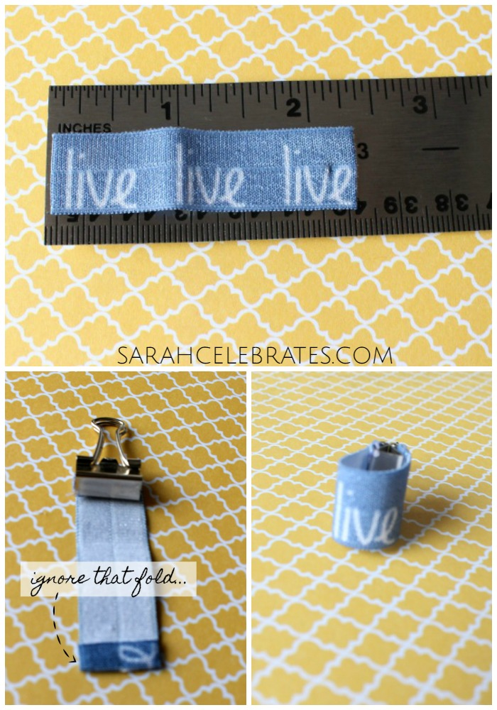 DIY Travelers Notebook Accessories - Pen Loop | Sarah Celebrates