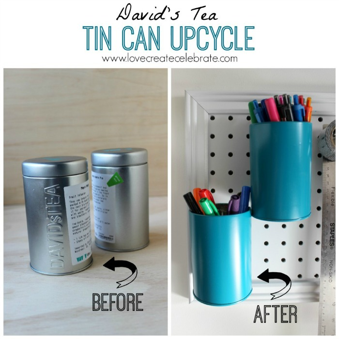 Tin Can Upcycle, Love Create Celebrate - A #2usestuesday Feature