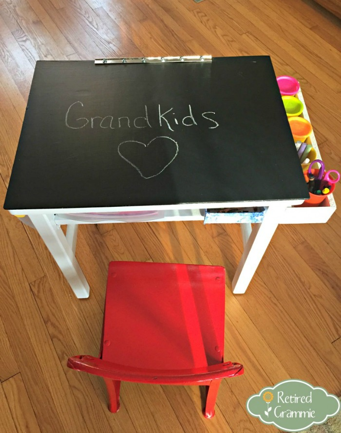 finishedchalkboarddesk, Retired Grammie - A #2usestuesday Feature