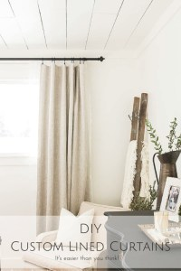 DIY-Custom-Lined-Curtains | A #2usestuesday Feature