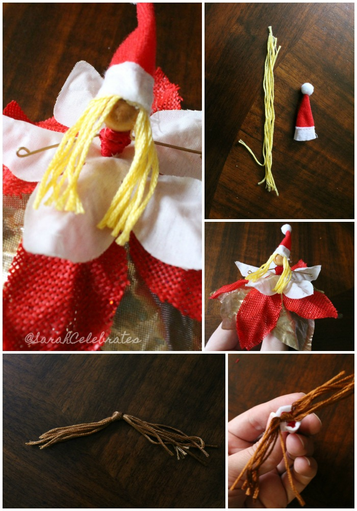 Tiny Fairies-Add some hair and a hat | Sarah Celebrates