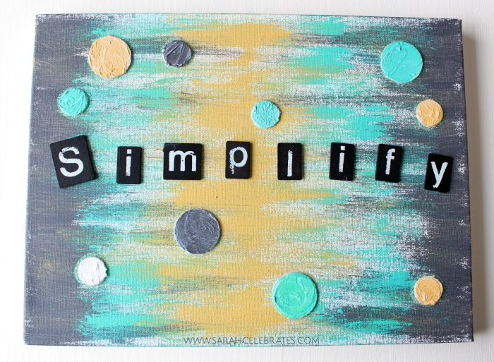 Art Journal, Canvas - Simplify