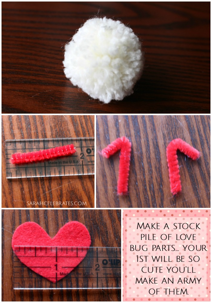 Love Bugs - Make a stock pile of love bug parts