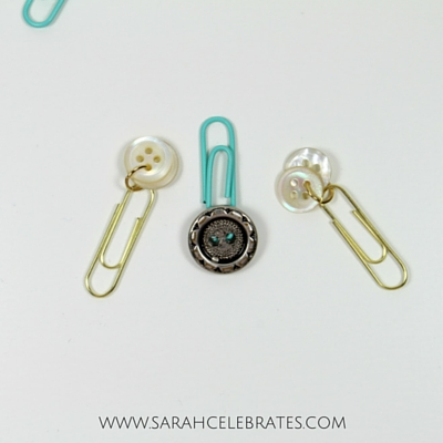 Paperclips Toppers - Buttons