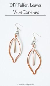 Wire-earring-tutorial