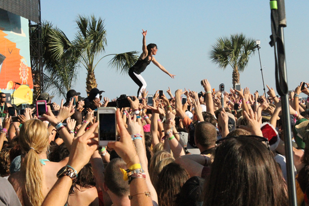 a weekend at Hangout Fest