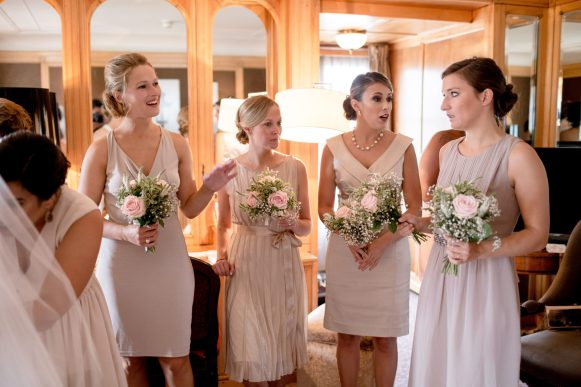 Bridemaids group