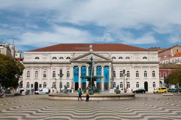 Lisbonne Praça do Rossio