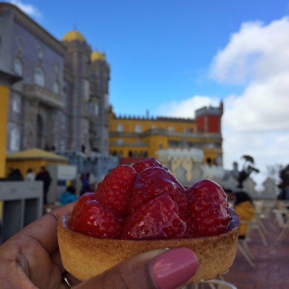 Tartelette framboise Palacio da Pena