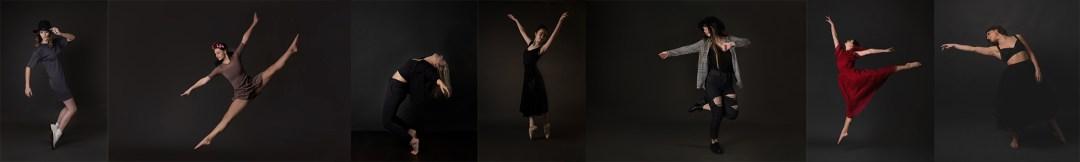 Dance portraits in studio