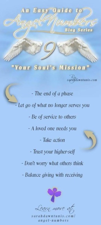 Your Soul's Mission - ANGEL NUMBER 9, 99, 999, 9999 - Easy