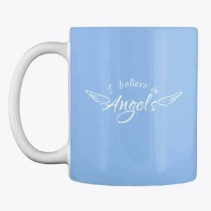 I believe in Angels mug from Angel Merch by Sarahdawn