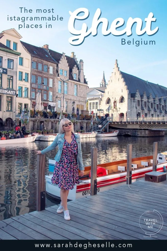 Instagram guide to Ghent: the most instagrammable places in Ghent