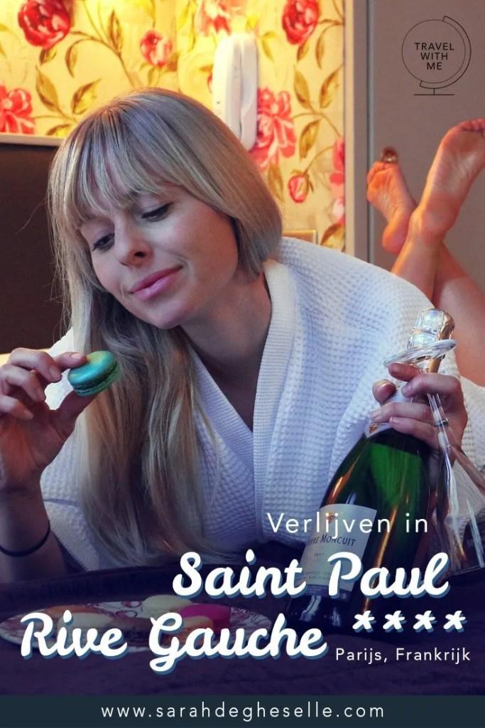Verblijven in Hotel Saint Paul Rive Gauche**** | Parijs | Frankrijk