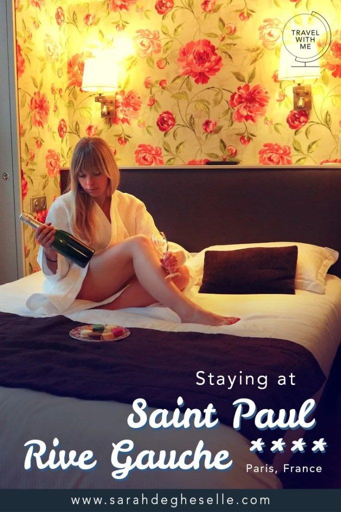 Staying at hotel Saint Paul Rive Gauche | Paris | France