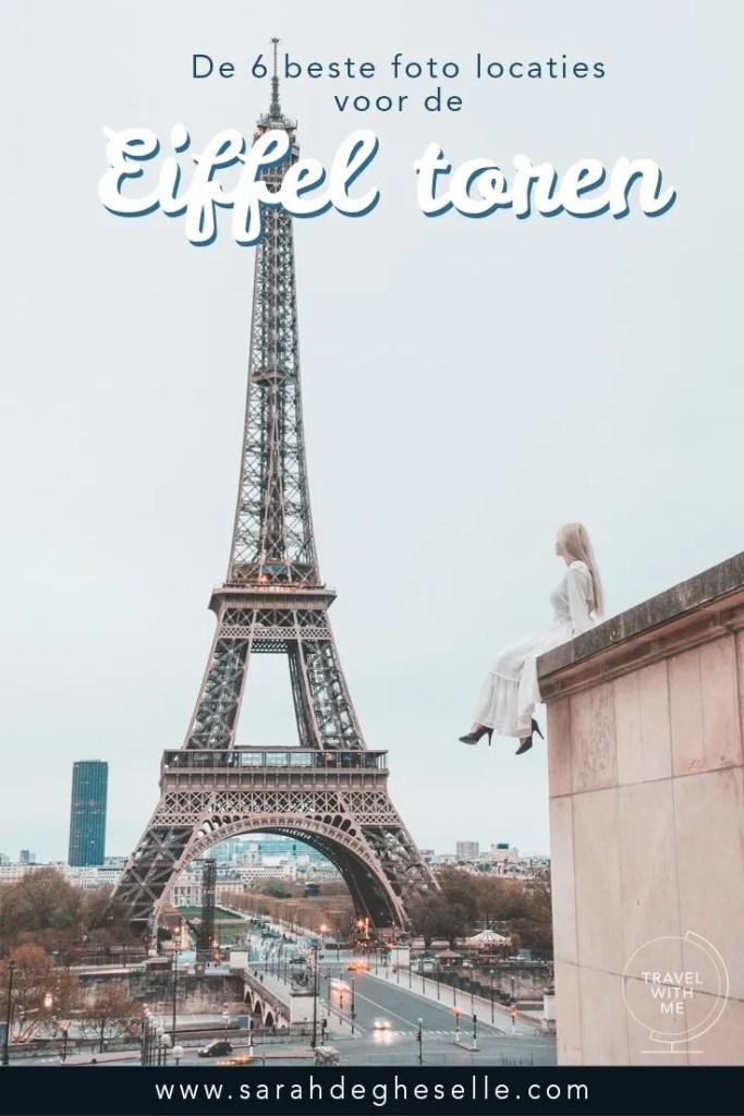 De 6 beste foto locaties voor de Eiffeltoren | Parijs | Frankrijk