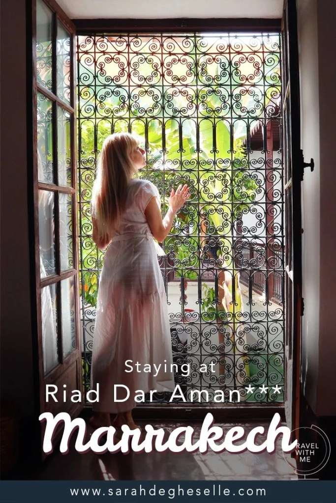 Staying at Riad Dar Aman*** | Marrakech | Morocco