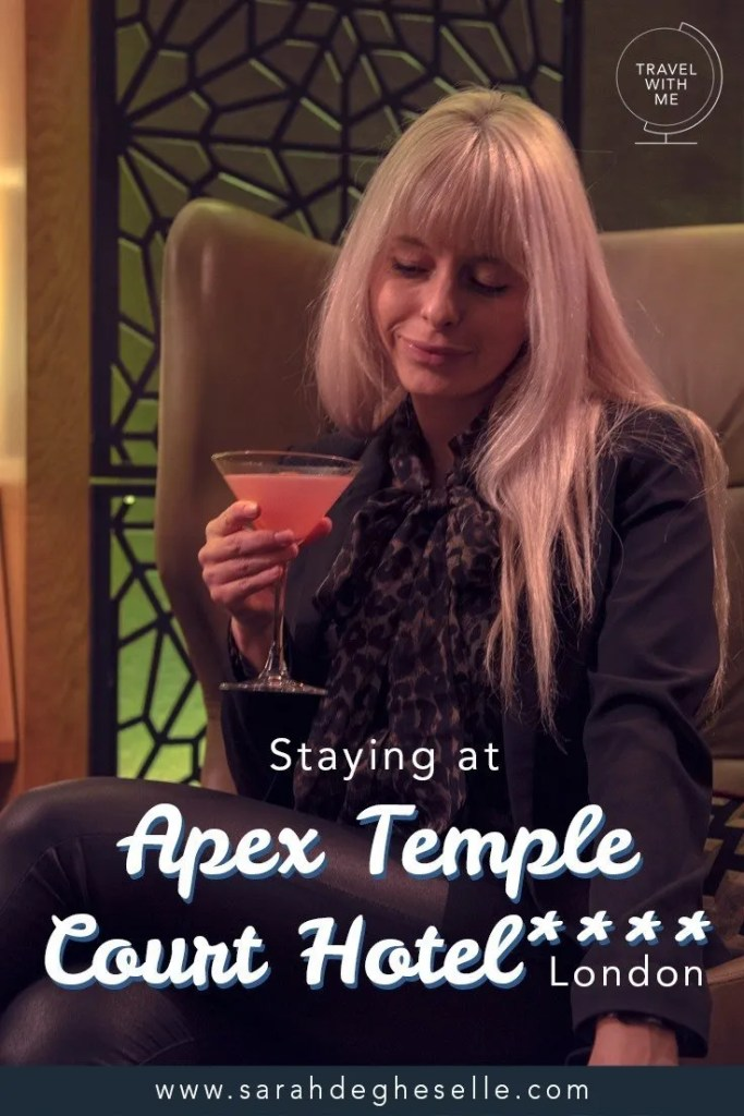 Staying at Apex Temple Court hotel **** | London | United Kingdom