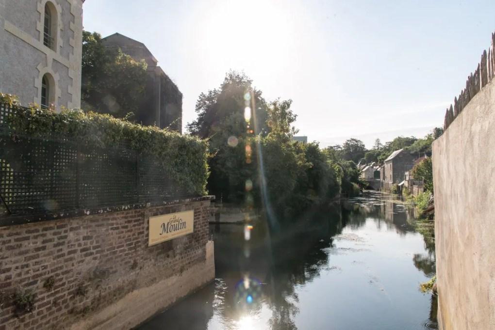 Le grand Moulin, La Chartre-sur-le-Loir, vallée du Loir
