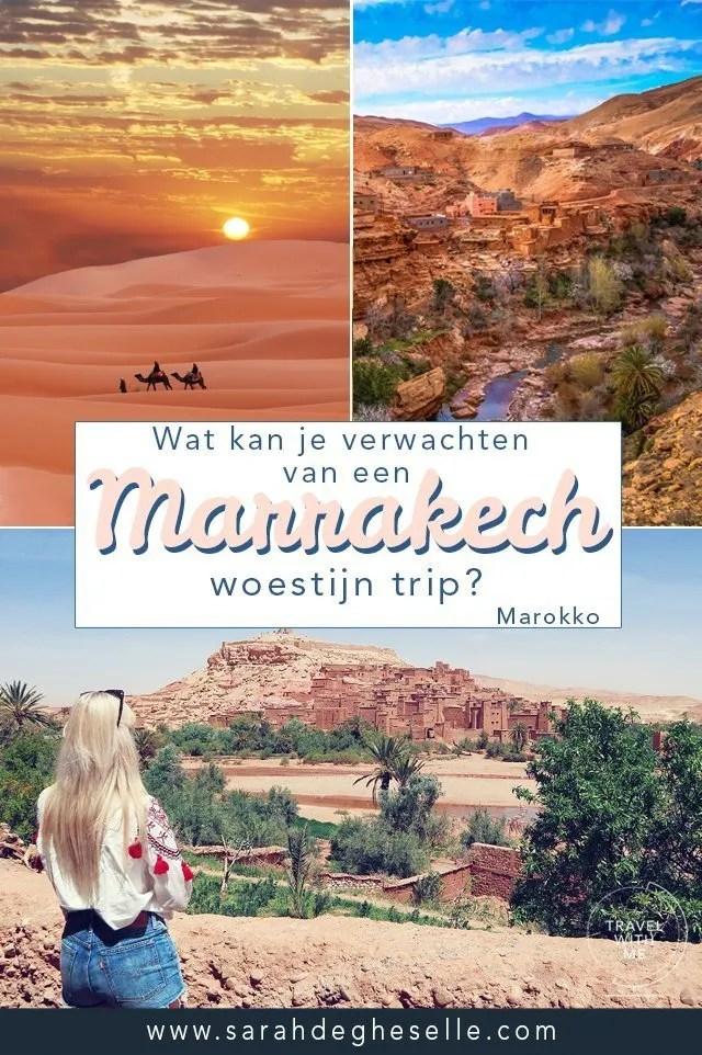 Wat kan je verwachten van een Marrakech woestijn trip?   Marokko
