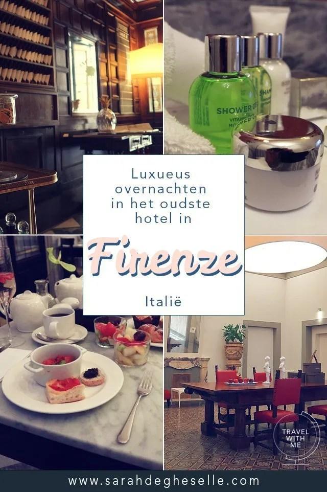 Luxueus overnachten in het oudste hotel in Firenze   Italië