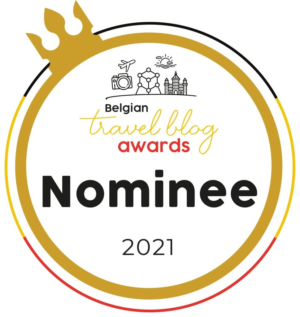 Belgian travel blog awards
