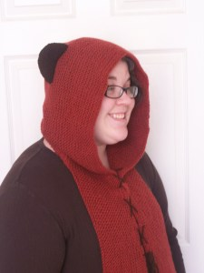 ewok hood Star Wars May the 4th be with you knitting pattern