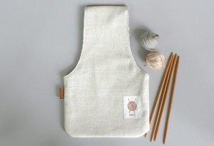 Yarn Project Bag Wristlet