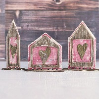 Reversible PaperWhimsy Houses Part 1