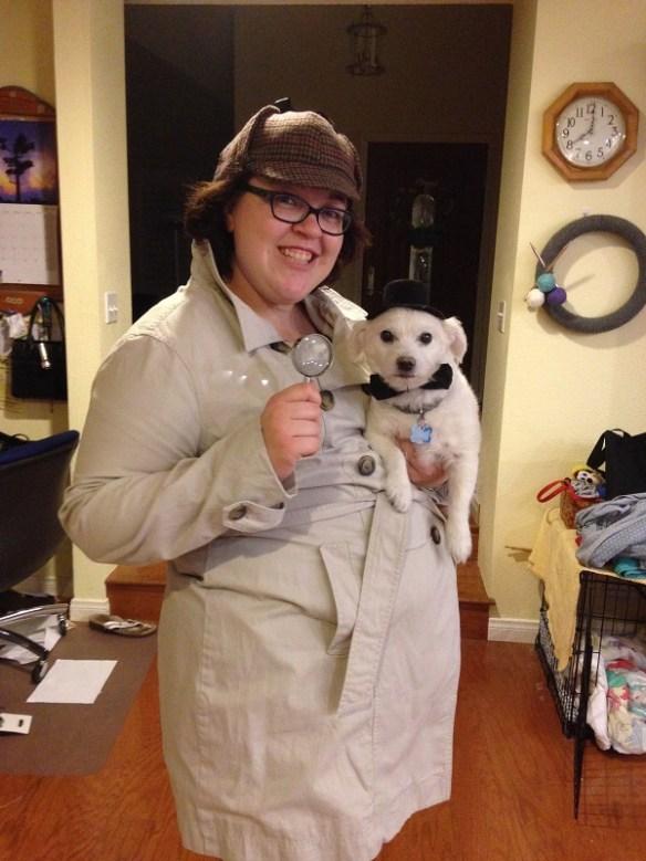 Sherlock Holmes and Doctor Watson costumes