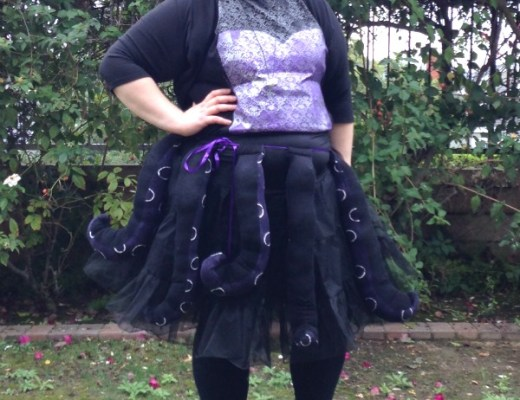 Ursula DIY Octopus Costume