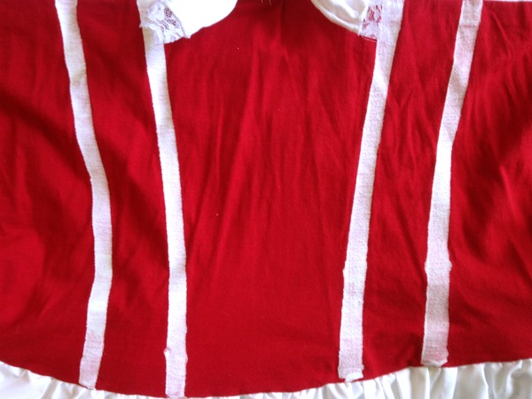Bodice Stripes Detail