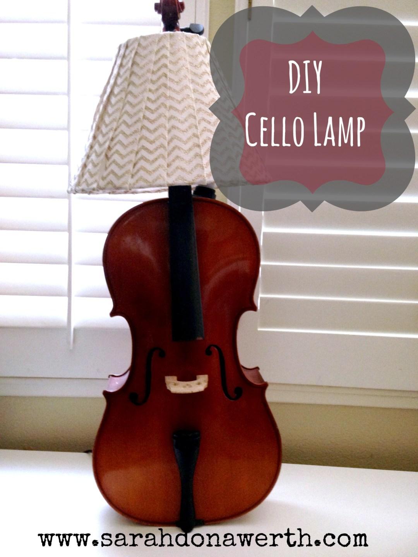 DIY Cello Lamp