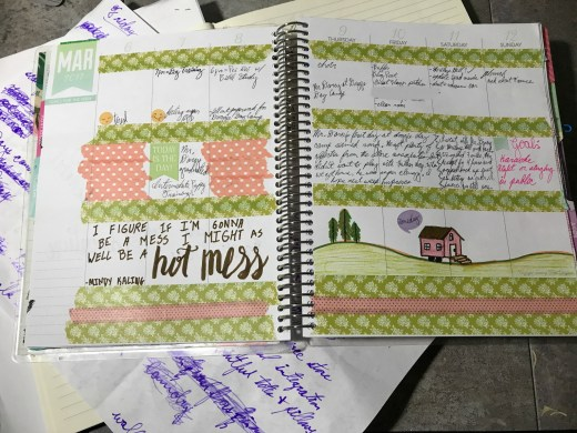 My Life in Lists: Planner Page 1
