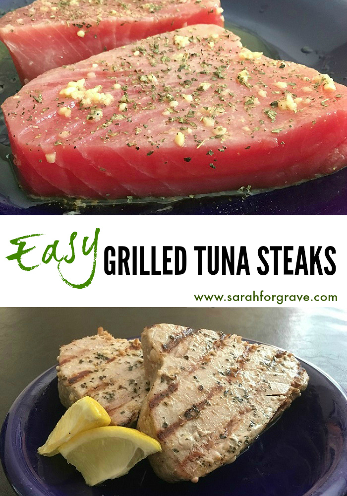 grilled tuna with red tomatillo sauce grilled jalapeno tuna steaks ...