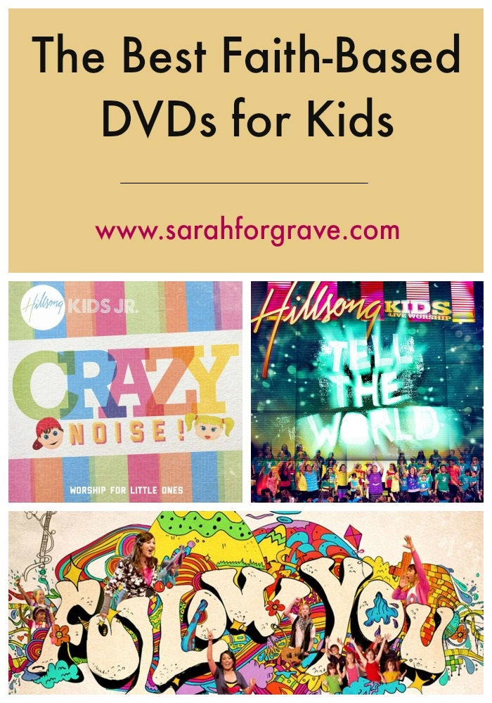The Best Faith-Based DVDs for Kids | www.sarahforgrave.com