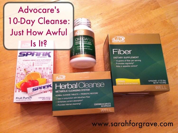Advocare Herbal Cleanse | www.sarahforgrave.com