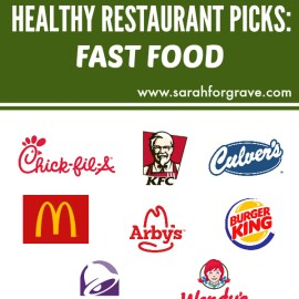 Healthy Restaurant Picks: Fast Food
