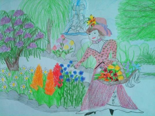 garden picture 1989