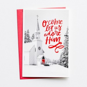 Christmas cards from Dayspring