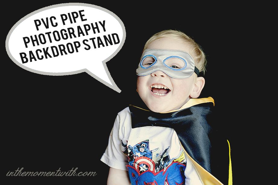 PVC Pipe Photography Backdrop Stand