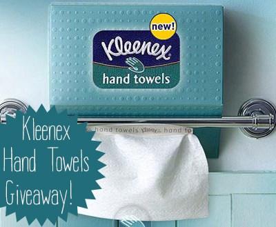 Kleenex Hand Towels Giveaway