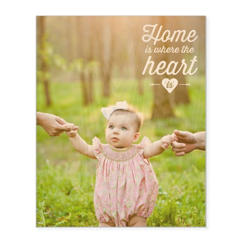 So You Want to Redecorate: Shutterfly Home and Heart Wood Wall Art