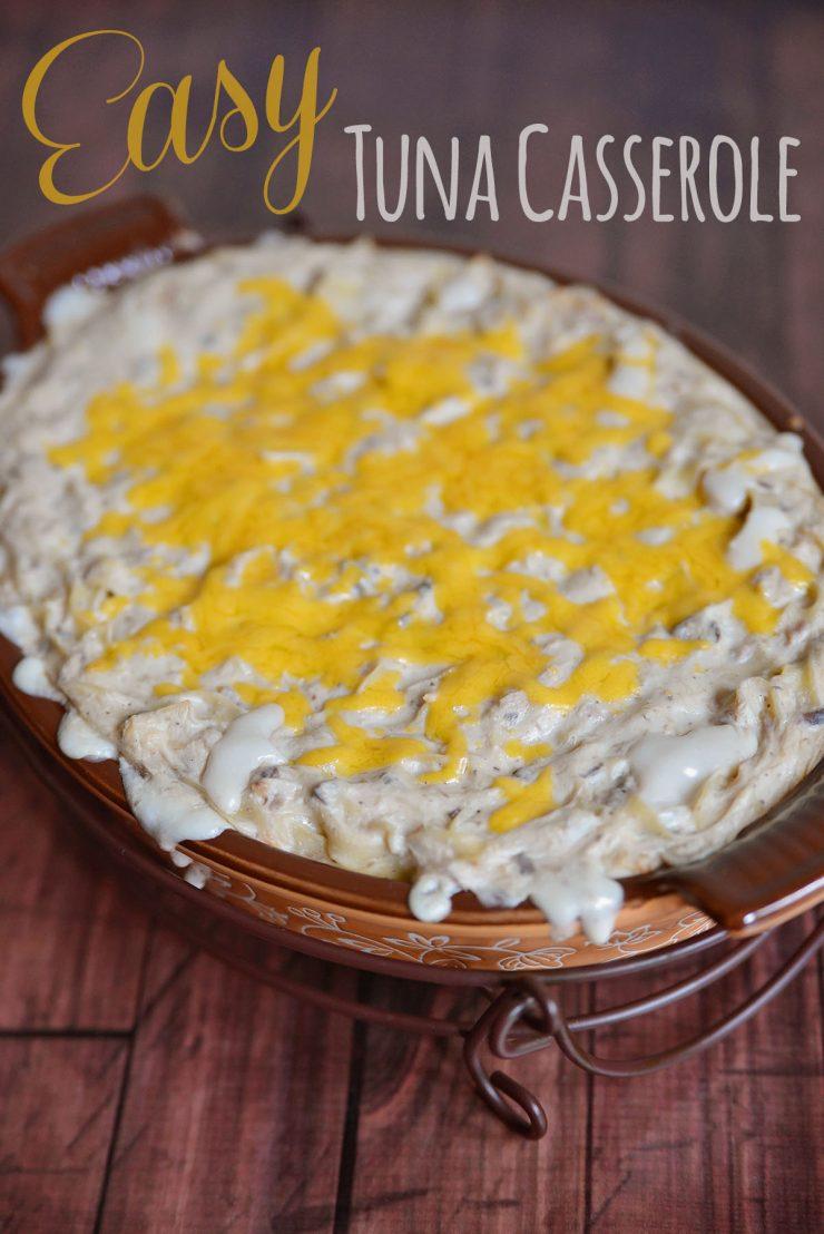 Easy Tuna Casserole Recipe using Bumble Bee® Albacore Tuna in Water Pouch